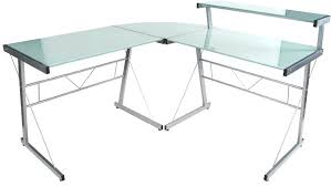bureau verre blanc bureau noir en verre bureau dangle design delo verre blanc bureau