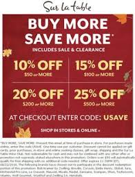 Sur La Table Coupon Code Pinned August 8th 20 Off At Autozone Thecouponsapp The