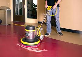 Hardwood Floor Buffing Spray Buffing A Floor