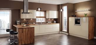 Gloss Kitchen Design Cabinet Doors By Deluxe Home Interiors Ipc - Cream kitchen cabinet doors