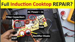 Induction Cooktop Power Complete Induction Cooktop Repairing Guide Full Tutorial Youtube