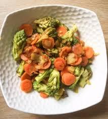 comment cuisiner le chou romanesco wok de chou romanesco et carottes comment j ai changé de vie