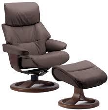 Recliner Chair Fjords Grip Ergonomic Leather Recliner Chair Ottoman Scandinavian