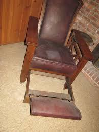 antique reclining wooden chair best 2000 antique decor ideas