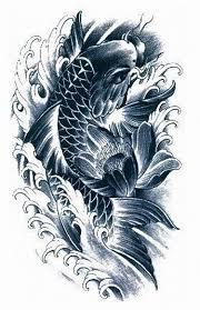 koi carp tattoo images aliexpress com buy koi tattoo stickers waterproof men and women