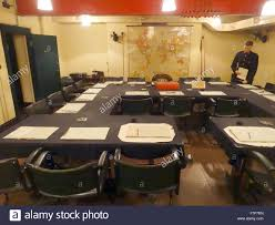 War Cabinet Ww2 Cabinet Briefing Room In The Cabinet War Rooms Bunker London