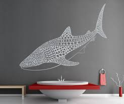 nature wall decals nature stickers for walls stickerbrand vinyl wall decal sticker whale shark os es109