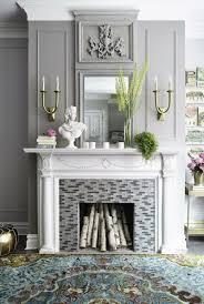 wohnzimmer dekorieren ideen ideen ehrfürchtiges wohnzimmer deko grau weiss 45 kamin deko