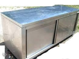 meuble de cuisine inox meuble cuisine professionnel inox occasion en with cleanemailsfor me