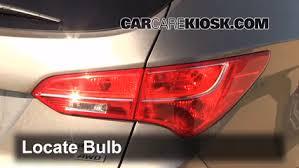 2013 hyundai sonata tail light bulb size brake light change 2013 2017 hyundai santa fe 2013 hyundai santa