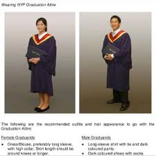 graduation gown rental nyp graduation gown for rent everything else on carousell