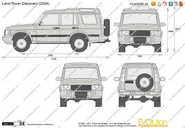 2000 land rover the blueprints com vector drawing land rover discovery