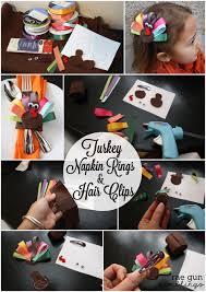 turkey napkin ring turkey napkin rings and turkey hair tutorial gun ramblings
