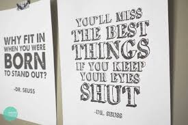 free printable dr seuss quote posters minted strawberry