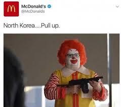 North Korean Memes - dopl3r com memes mcdonalds mcdonalds north korea pull up