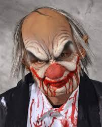 smiley horrorclown mask for halloween horror shop com