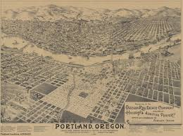 Portland City Map by Lloyd District Version 4 1 Places Over Time