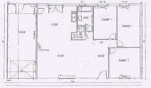 plan de maison 4 chambres plain pied chambre beautiful plan maison plain pied 1 chambre hd wallpaper