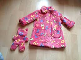 robe de chambre fillette robe de chambre fille les créations de mamie lo