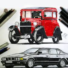 vintage cars drawings bmw group classic bmw classic twitter