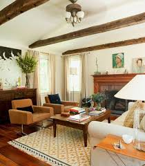 mixing mid century modern and rustic rustic meets mid century modern the exposed beams design