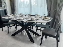 Stone Dining Room Table Greyhammer Furniture Architect Solid Wood Marble U0026 Veneer