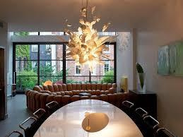 Unique Dining Room Light Fixtures Modern Unique Dining Room Chandeliers Combined With Oval Dining