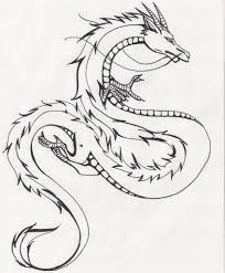 easy chinese dragon drawing chinese dragon watermelonxd on