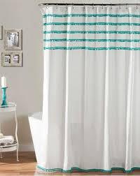 Aqua Blue Shower Curtains Aqua Shower Curtain Interior Design