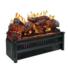 electric fireplace logs crackling sound system with soundbar stand