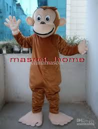 Curious George Halloween Costumes Curious George Monkey Mascot Costumes Cartoon Fancy Dress