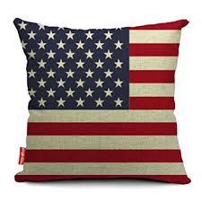 Cusion Cover Amazon Com Kingla Home Square Cotton Linen Sofa Cushion Covers