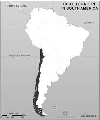 map of and south america black and white chile location map in south america black and white chile