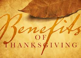two benefits of thanksgiving baptist church
