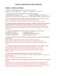 chemistry midterm review study guide 2012