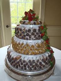 i want to have a cannoli tower like this instead of a traditional