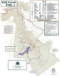 Illinois State Parks Map by Maps Of Fall Creek Falls State Park