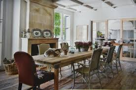 rustic upholstered dining room chairs dining room design