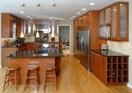 Wood Kitchen Cabinets Kitchen Cherry Wood Kitchen Doors Dark Wood Cupboard Black