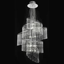 endon camille 24ch camille chandelier endon 24 light chrome pendant