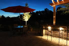 Landscape Lighting Contractor Outdoor Lighting And Kitchen Baron Landscaping
