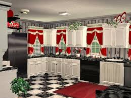 Cherry Kitchen Curtains by Christmas Kitchen Decor U2013 The Coziest Year Ideas To Inspire Your
