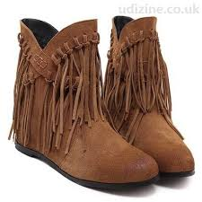 womens flat ankle boots uk retro s ankle boots with cross straps tassel brown toe