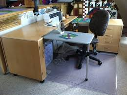 Corner Sewing Table by Portable Pressing Table By Sew N Go Organizing For Quilter