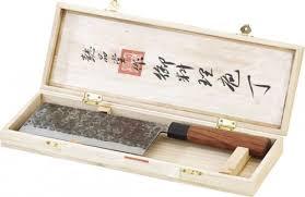 couteau de cuisine chinois couteaux de cuisine avec lame inox 58hrc et manche en bois de