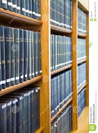 The Bookshelf Blue Law Books Stacked On The Bookshelf Stock Photos Image 15667553