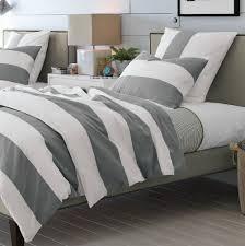 Black And Gray Duvet Cover Black White Grey Duvet Covers Home Design Ideas