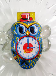 vintage new year s noisemakers vintage owl tin clickers new year s noisemakers set of 3 made in
