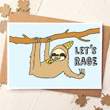 funny illustrated cards collection finch and the fallow