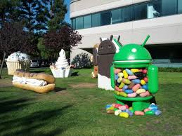 android statues how android evolved version shares from 2013 to 2015